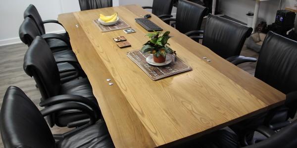 Ash & Butternut boardroom table